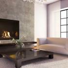 Modern Living Room Fireplace
