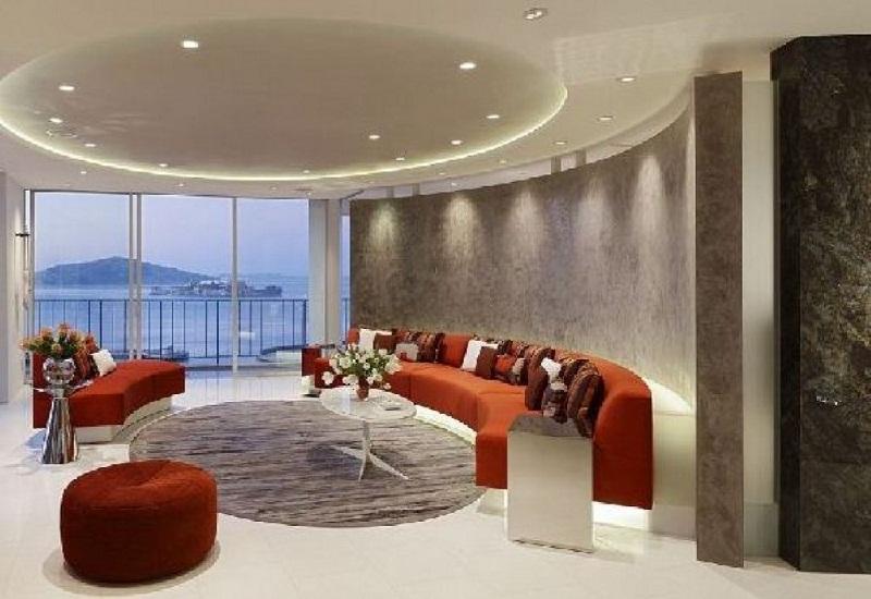 Modern Living Room Lighting Design