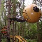 Unique Globe Tree House Design