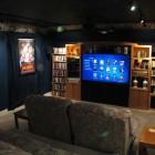 Small Home Theater Design Ideas Photo