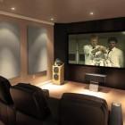Stylish Home Theater Decor Ideas 2014