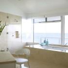 White Amazing Bathroom Alternatives Decorating
