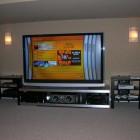 Simple Minimalist Home Theater Speaker Positioning