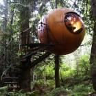 Unique Egg Shape Luxury Tree Houses Picture