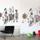 eBoy Tokyo Blik Wall Decals Wallpaper Design