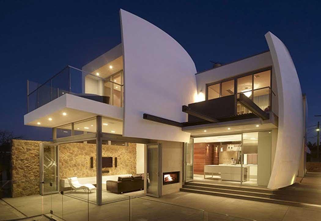 Modern Lighting Australian Ranch Houses Two Storey
