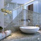Backsplash ideas for bathroom tiles