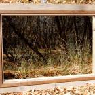 DIY Rustic Barnwood mirror