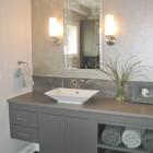 Luxury grey bathroom vanity ideas