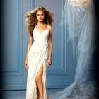 comfortable wedding dress for beach wedding classy