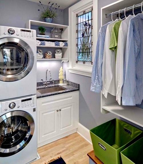 smallroom laundry room ideas