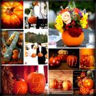 stunning Autumn wedding ideas pumpkins and autumn leaves