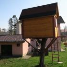 Back Side DIYaffordable Treehouse Ideas