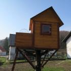 Finished. DIYaffordable Treehouse Ideas