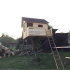 Progress, No Paint DIYaffordable Treehouse Ideas
