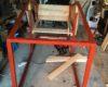 Red DIY chicken coop ideas