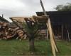 planks and foundation DIYaffordable Treehouse Ideas