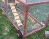 DIY chicken coop tractor